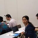 もくもく勉強会(WordPress)@川口の講座の風景