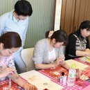 日本ボディジュエリー協会の講座の風景