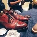 九州で唯一の靴磨きが学べる講座の講座の風景