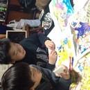 造形絵画教室ART CANの講座の風景