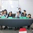 子供も大人も想像を言葉に!朗読と絵本の塾リヴの講座の風景