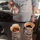 コーヒーホーム焙煎教室の講座の風景