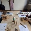 ペットロス木彫りセラピーの講座の風景