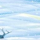 3色パステルアート教室の講座の風景