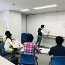 美容と健康の授業の講座の風景