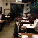 ペンと筆のレッスン室の講座の風景