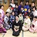 沼澤三永子きもの教室の講座の風景