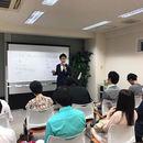 副業、起業を現実的に考える人の為の教室の講座の風景