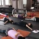 身体のコンディショニングを整える教室の講座の風景