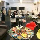 Keeda Drawing Barの講座の風景