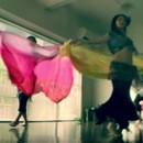 プラハのゆったりベリーダンスの講座の風景