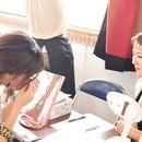 ♡セルフマツエク教室♡の講座の風景
