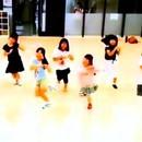 キッズアイドルダンスレッスンの講座の風景