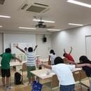 東京都姿勢調整師会の開催する講座の風景