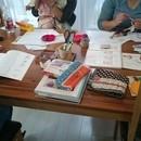 かぎ編み教室「アミマス」の講座の風景
