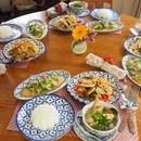 タイ料理教室diidiiの講座の風景