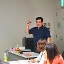 クラウドファンディング実践的!達成勉強会の講座の風景