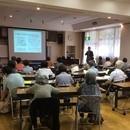 高齢者入浴アドバイザー協会の開催する講座の風景
