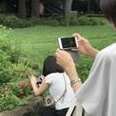 スマホカメラとインスタ、実践心理学の使い方のお伝えの講座の風景