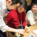 バリスタぎっさんのコーヒー教室の講座の風景