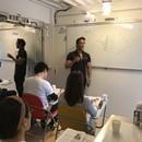 世界一分かり易く、誰でも実践出来るフィットネス教室の講座の風景
