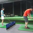 ゴルフクラブの作り手によるゴルフの基礎レッスンの講座の風景