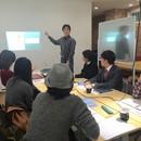 広告写真とヒットチラシの作り方の講座の風景