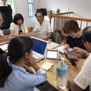 田口相の1日教室 ホームページ作成なら3時間で!の講座の風景