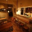 カフェ、お店開業塾の講座の風景