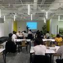 超士業。経営相談に乗れるパートナーCFO養成教室の講座の風景