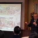ジャポニスムアカデミーの開催する講座の風景