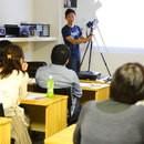 武藤裕也 写真ワークショップの講座の風景