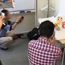 写真と絵を学べるアトリエの講座の風景
