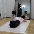 ~バレエダンサーのような美しい姿勢に~フロアバーの講座の風景