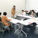 簡単!アート体験教室の講座の風景