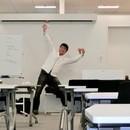 折り紙教室の講座の風景