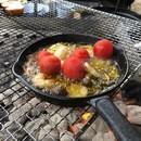キャンプデビュー・アウトドア料理教室の講座の風景