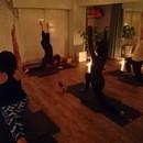 彩yoga~saya yoga~の講座の風景