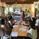 Catherine's Aloha Table の講座の風景