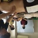 美しく健康なボディメイクのプロ育成教室の講座の風景