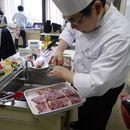 身体に優しい料理教室の講座の風景