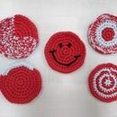初心者向け編み物ワークショップの講座の風景
