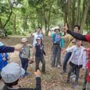 親子自然体験型プログラム「ネイチャーダイブ」の講座の風景