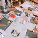 和菓子教室 ふぅわの講座の風景