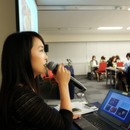川窪葉子 写真教室の開催する講座の風景