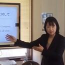 英語パーソナルトレーナーの「実践的ビジネス英語」の講座の風景