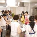 日本橋キッチン〜おいしい料理を楽しく〜の講座の風景