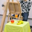 毎刻美術学院の講座の風景