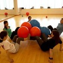 オンラインレッスン☆バランスボールで体幹アップ!の講座の風景