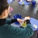 茶道って愉しい!有結流テーブル茶道教室の講座の風景